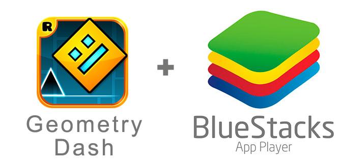 Устанавливаем Geometry Dash Lite с помощью эмулятора BlueStacks.