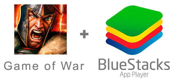 Устанавливаем Game of War с помощью эмулятора BlueStacks.