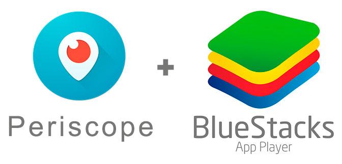 Устанавливаем Periscope с помощью эмулятора BlueStacks.