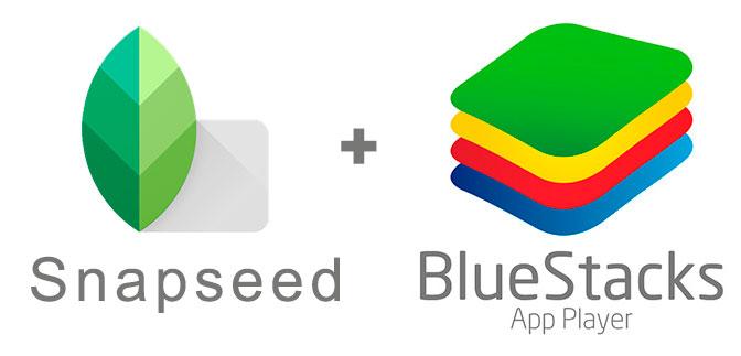 Устанавливаем Snapseed с помощью эмулятора BlueStacks.