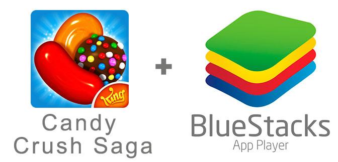 Устанавливаем Candy Crush Saga с помощью эмулятора BlueStacks.
