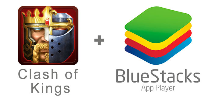 Устанавливаем Clash of Kings с помощью эмулятора BlueStacks.