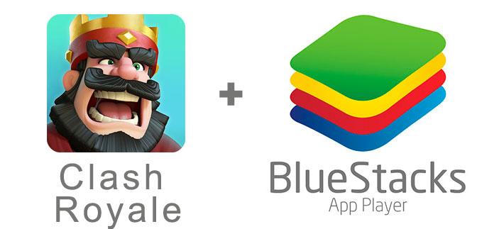 Устанавливаем Clash Royale с помощью эмулятора BlueStacks.
