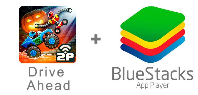 Устанавливаем Драйв Ахед с помощью эмулятора BlueStacks.