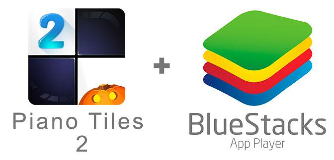 Устанавливаем Piano Tiles 2 с помощью эмулятора BlueStacks.