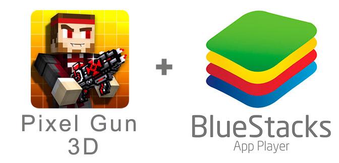 Устанавливаем Пиксель Ган 3D с помощью эмулятора BlueStacks.