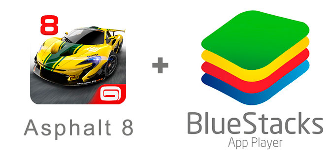 Устанавливаем Асфальт 8 с помощью эмулятора BlueStacks.