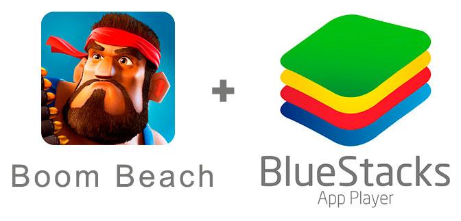 Устанавливаем Бум Бич с помощью эмулятора BlueStacks.