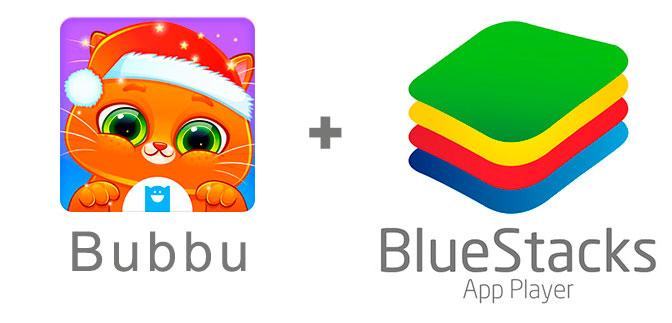 Устанавливаем котика Бубу с помощью эмулятора BlueStacks.