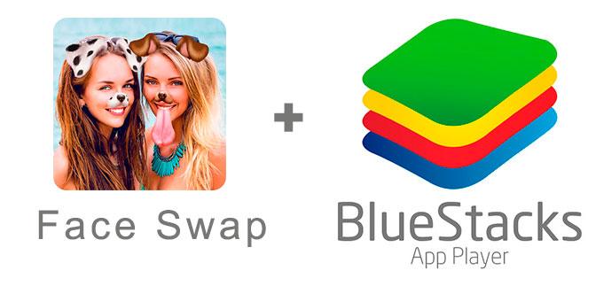 Устанавливаем Фейс Свап с помощью эмулятора BlueStacks.