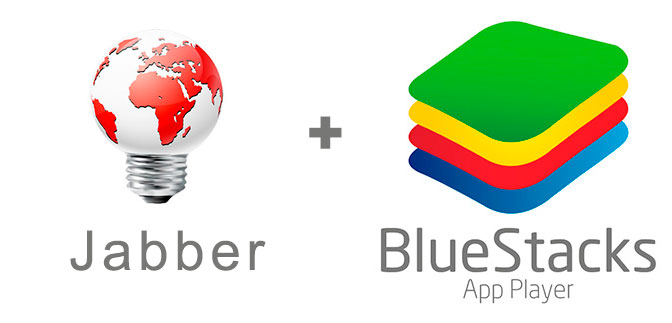 Устанавливаем Джаббер с помощью эмулятора BlueStacks.