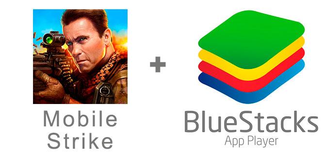 Устанавливаем Мобайл Страйк с помощью эмулятора BlueStacks.