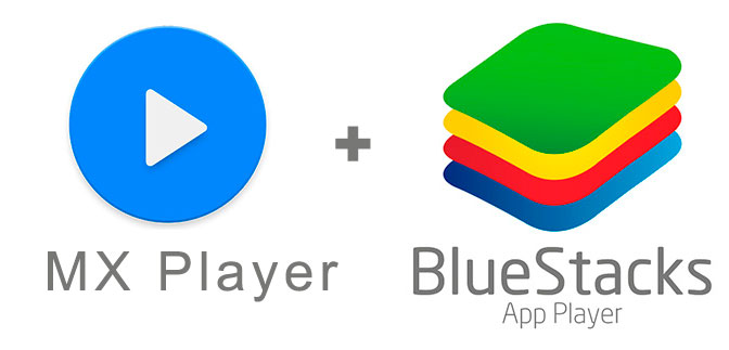 Устанавливаем MX Плеер с помощью эмулятора BlueStacks.