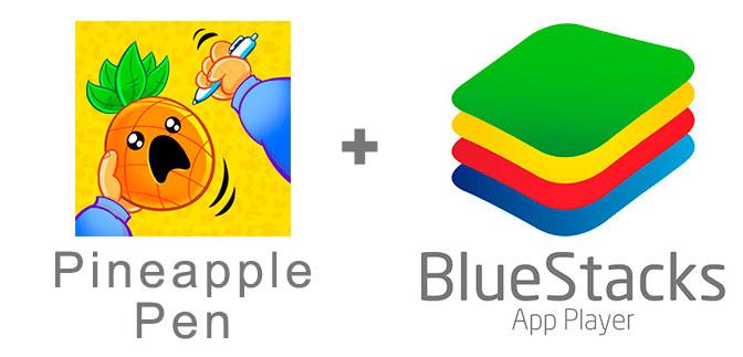 Устанавливаем Pineapple Pen с помощью эмулятора BlueStacks.