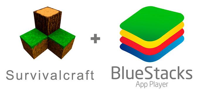 Устанавливаем Сурвивал Крафт с помощью эмулятора BlueStacks.