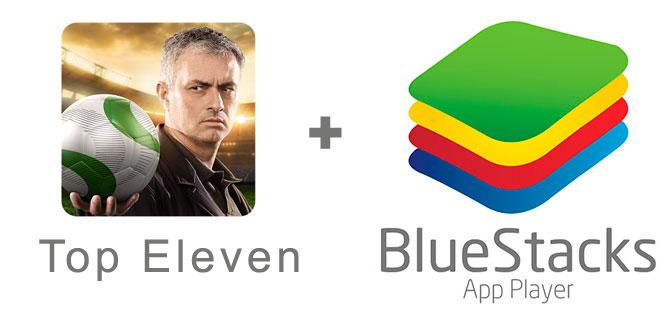 Устанавливаем Топ Элевен с помощью эмулятора BlueStacks.