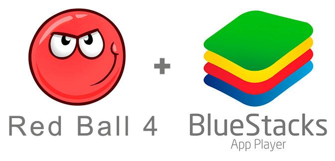Устанавливаем Ред Бол 4 с помощью эмулятора BlueStacks.
