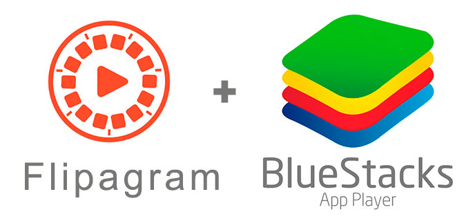 Устанавливаем Флипаграм с помощью эмулятора BlueStacks.
