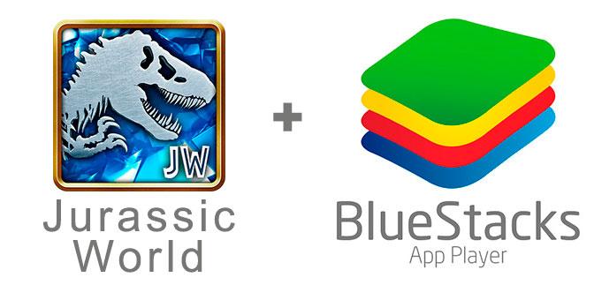Устанавливаем Джурасик Ворлд с помощью эмулятора BlueStacks.