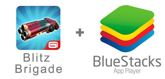 Устанавливаем Blitz Brigade с помощью эмулятора BlueStacks.