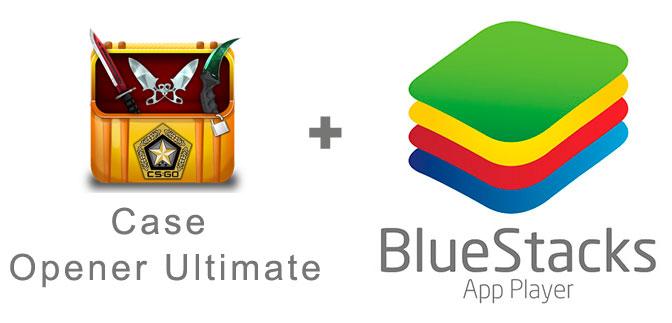 Устанавливаем Case Opener Ultimate с помощью эмулятора BlueStacks.