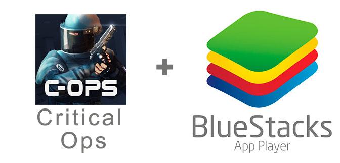 Устанавливаем Critical Ops с помощью эмулятора BlueStacks.