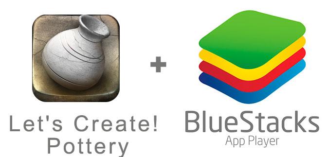 Устанавливаем Let's Create! Pottery с помощью эмулятора BlueStacks.