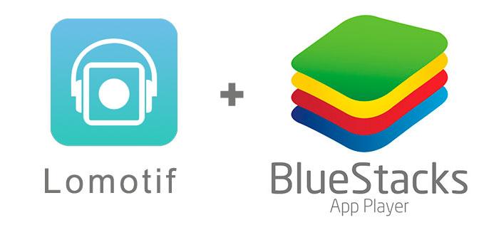 Устанавливаем Lomotif с помощью эмулятора BlueStacks.