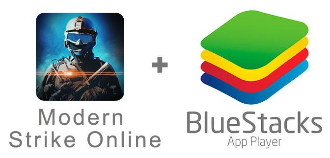 Устанавливаем Modern Strike Online с помощью эмулятора BlueStacks.