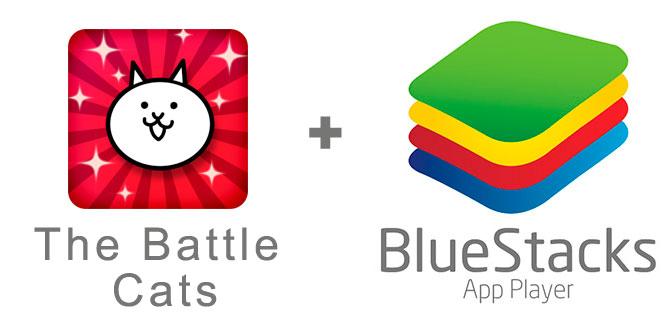 Устанавливаем The Battle Cats с помощью эмулятора BlueStacks.