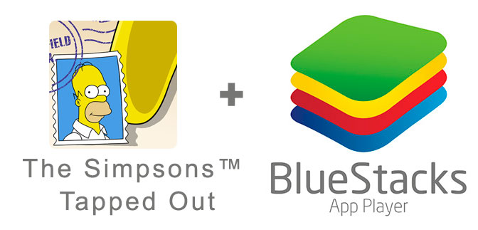Устанавливаем The Simpsons: Tapped Out с помощью эмулятора BlueStacks.