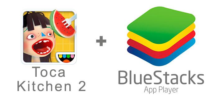 Устанавливаем Toca Kitchen 2 с помощью эмулятора BlueStacks.