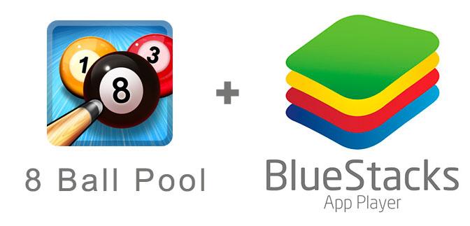 Устанавливаем 8 Ball Pool с помощью эмулятора BlueStacks.