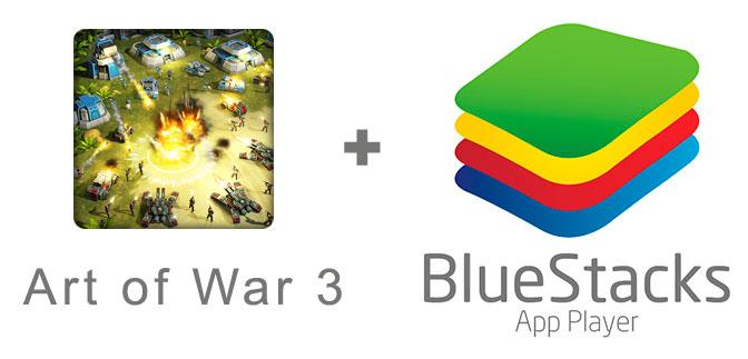 Устанавливаем игру Art of War 3 с помощью эмулятора BlueStacks.
