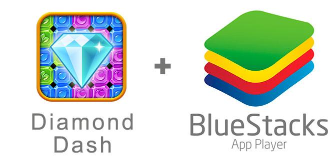 Устанавливаем игру Diamond Rush с помощью эмулятора BlueStacks.