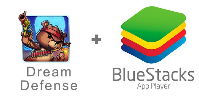 Устанавливаем Dream Defense с помощью эмулятора BlueStacks.