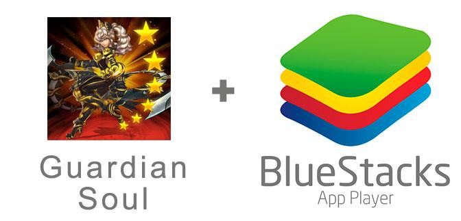 Устанавливаем Guardian Soul с помощью эмулятора BlueStacks.