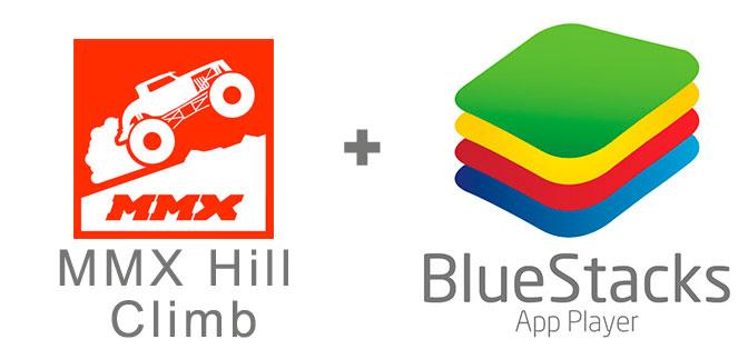 Устанавливаем MMX Hill Climb с помощью эмулятора BlueStacks.