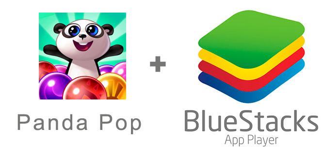 Устанавливаем Panda Pop с помощью эмулятора BlueStacks.