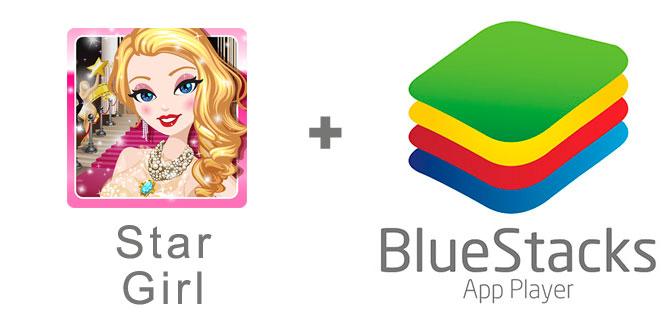 Устанавливаем Star Girl с помощью эмулятора BlueStacks.