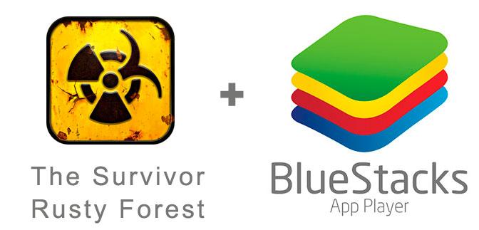 Устанавливаем The Survivor Rusty Forest с помощью эмулятора BlueStacks.
