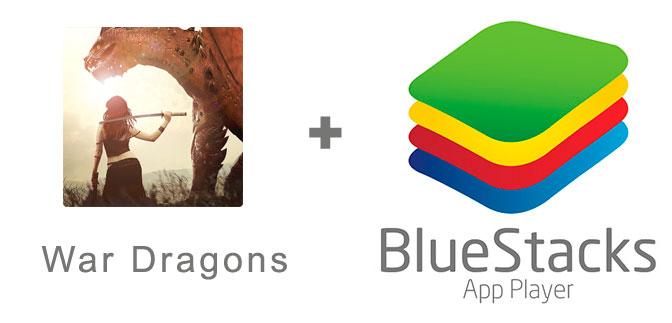 Устанавливаем War Dragons с помощью эмулятора BlueStacks.