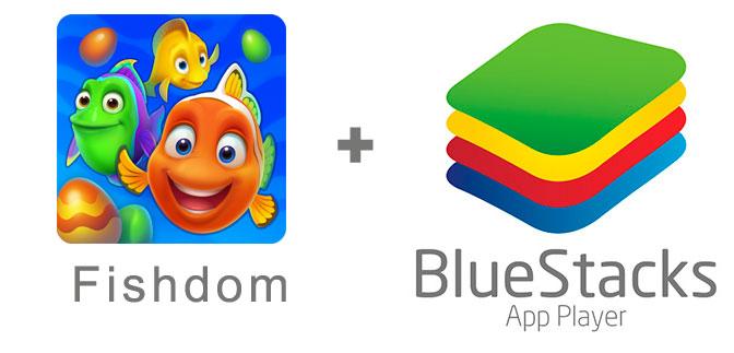Устанавливаем Fishdom с помощью эмулятора BlueStacks.