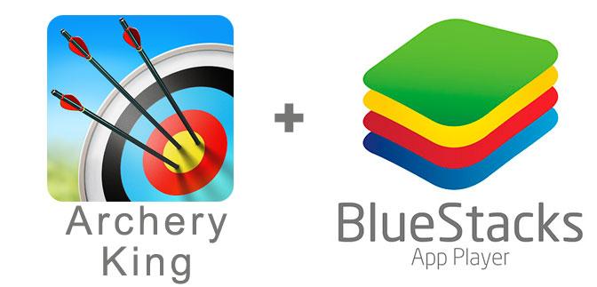 Устанавливаем Archery King с помощью эмулятора BlueStacks.