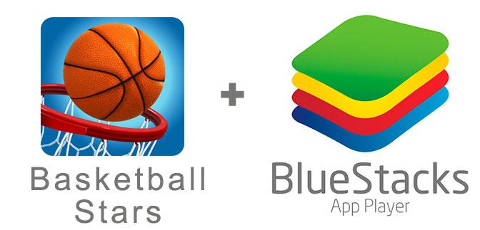 Устанавливаем Basketball Stars с помощью эмулятора BlueStacks.