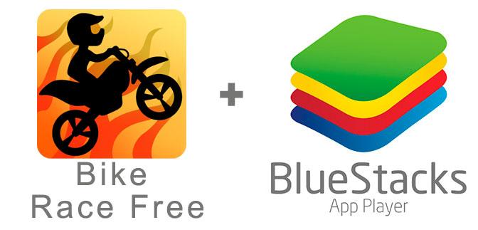 Устанавливаем Bike Race Free  с помощью эмулятора BlueStacks.