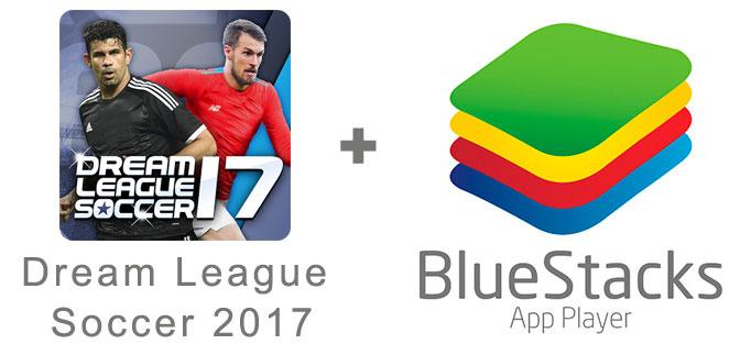Устанавливаем Dream League Soccer 2017 с помощью эмулятора BlueStacks.