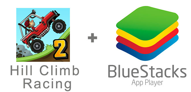 Устанавливаем Hill Climb Racing 2 с помощью эмулятора BlueStacks.