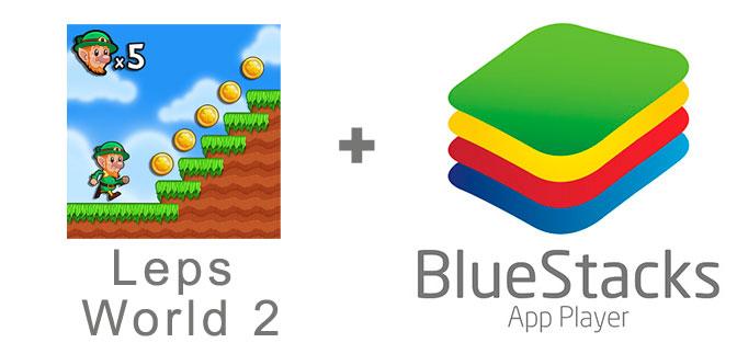 Устанавливаем Leps World 2 с помощью эмулятора BlueStacks.