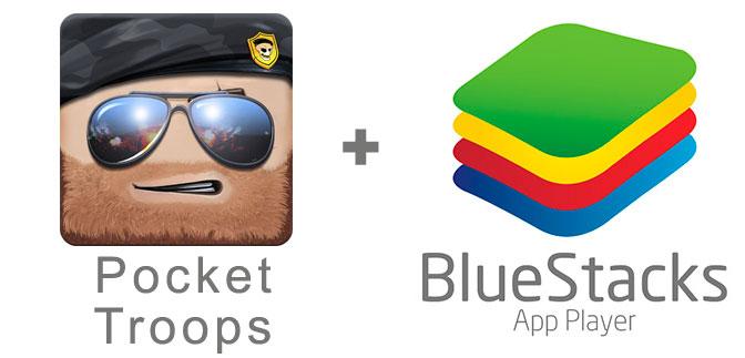 Устанавливаем Pocket Troops с помощью эмулятора BlueStacks.